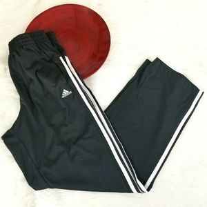 Adidas Athletic Pants Loose Dry Wicking Pockets